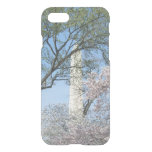 Cherry Blossoms and the Washington Monument in DC iPhone 7 Case