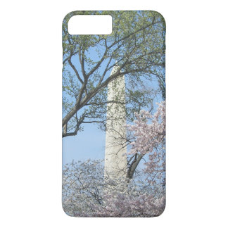 Cherry Blossoms and the Washington Monument in DC iPhone 7 Plus Case