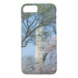Cherry Blossoms and the Washington Monument in DC iPhone 8/7 Case