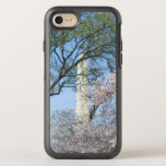 Cherry Blossoms and the Washington Monument in DC OtterBox Symmetry iPhone 8/7 Case