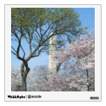 Cherry Blossoms and the Washington Monument in DC Wall Sticker