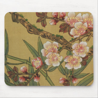 Cherry Blossoms Asian Japanese Art Mouse Pad