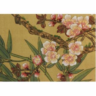 Cherry Blossoms Asian Japanese Art Photo Cutouts
