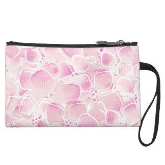 Cherry Blossoms Wristlet Clutch
