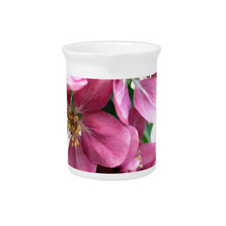 Cherry Blossoms Beverage Pitcher