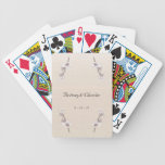 Cherry Blossoms Bicycle Poker Cards