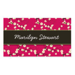 Cherry Blossoms Business Cards