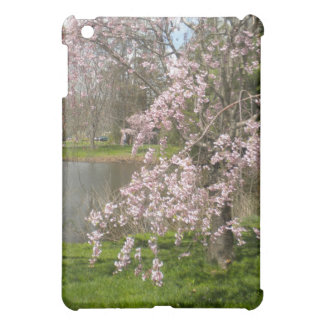 Cherry Blossoms By The Water iPad Case