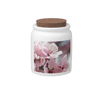Cherry Blossoms Candy Jar