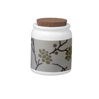 Cherry Blossoms Candy Jars
