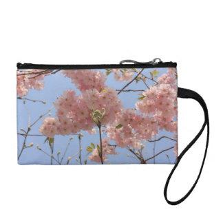 cherry blossoms coin purse