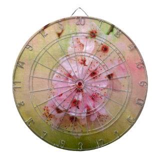 Cherry Blossoms Dart Board