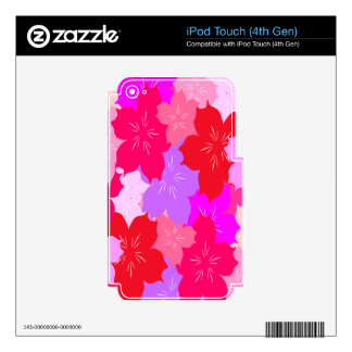 Cherry Blossoms Decal For iPod Touch 4G