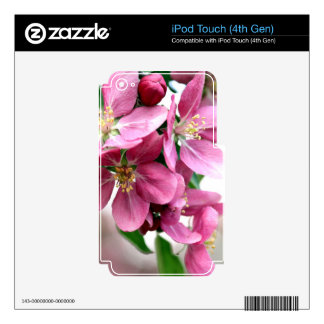 Cherry Blossoms Decals For iPod Touch 4G