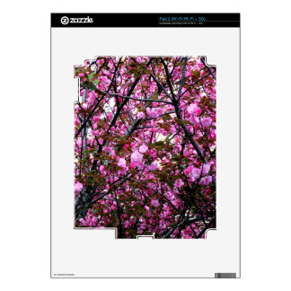 Cherry Blossoms Decals For The iPad 2