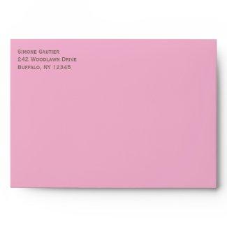 Cherry Blossoms Envelope for 5