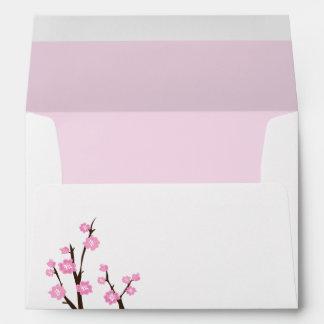 Cherry Blossoms Envelopes