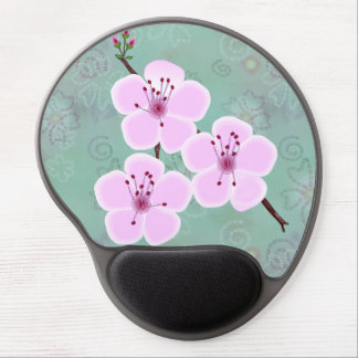 Cherry Blossoms Gel Mouse Pad