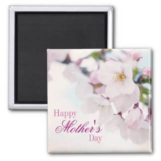 Cherry Blossoms Happy Mother's Day Magnet