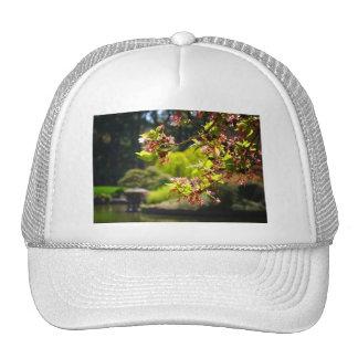 Cherry Blossoms In A Japanese Garden Trucker Hat