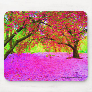 Cherry Blossoms in Central Park Mouse Pad