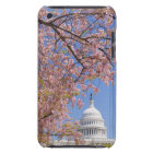 Cherry blossoms in front of Capitol building iPod Touch Case-Mate Case
