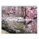 Cherry Blossoms in Japan Calendar