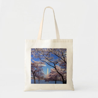 Cherry Blossoms in Washington D.C. Budget Tote Bag