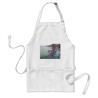 Cherry Blossoms in Washington DC Adult Apron
