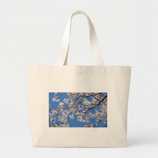 Cherry Blossoms in Washington DC Canvas Bags