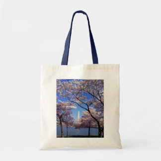 Cherry Blossoms in Washington DC Canvas Tote Bag