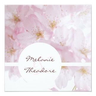 Cherry Blossoms Invitation
