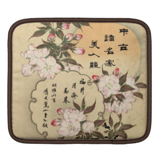 Cherry blossoms iPad sleeves