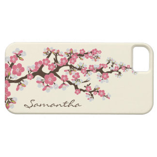 Cherry Blossoms iPhone 5 Case-Mate Case (pink)