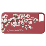 Cherry Blossoms iPhone 5 Case-Mate Case (red) iPhone 5 Cases