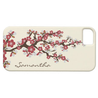 Cherry Blossoms iPhone 5 Case-Mate Case (red) iPhone 5 Covers
