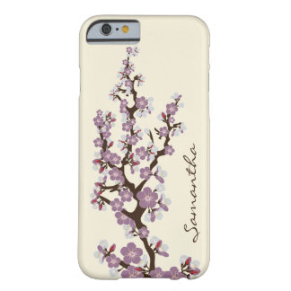 Cherry Blossoms iPhone 6 Case (purple)