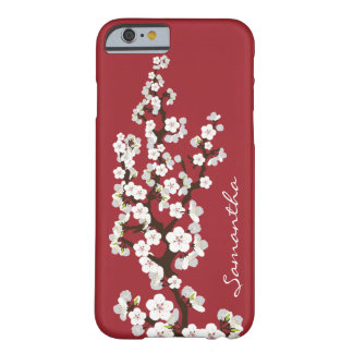 Cherry Blossoms iPhone 6 Case red