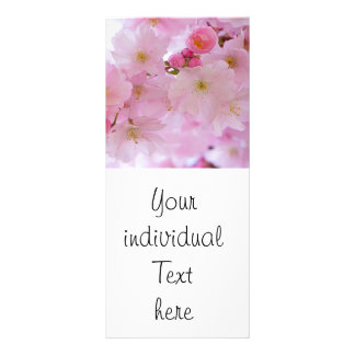 Cherry Blossoms,japanese Rack Card Template