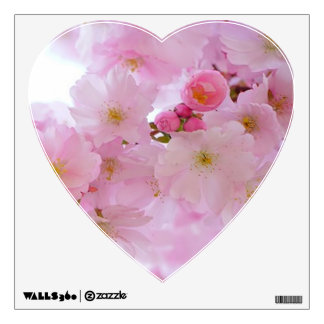 japanese cherry blossom wall decals wall stickers zazzle