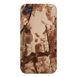 cherry blossoms jefferson memorial iPhone 4 covers