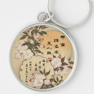 Cherry blossoms keychain