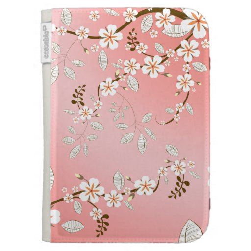 Cherry Blossoms Kindle Case