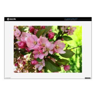 cherry blossoms laptop skin