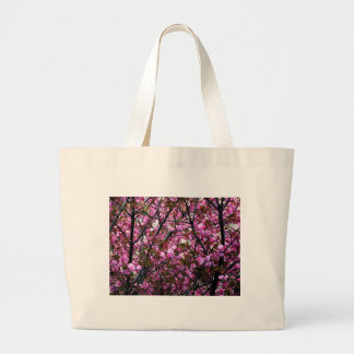 Cherry Blossoms Large Tote Bag