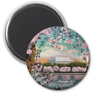 Cherry Blossoms Magnet