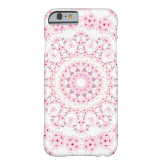 Cherry Blossoms Mandala Barely There iPhone 6 Case