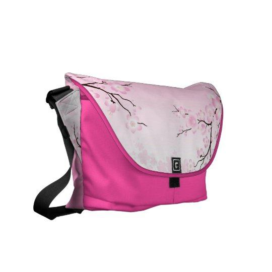 Cherry Blossoms Messenger Bag