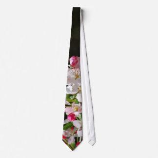 Cherry blossoms neck tie