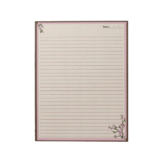 Cherry Blossoms Notepad